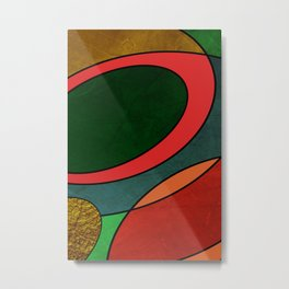 Abstract #325 Metal Print