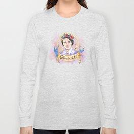 Trudeau: Feminist Long Sleeve T-shirt