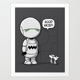 Good Grief Art Print