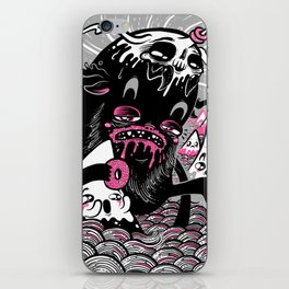 Wandering Donutbeast iPhone Skin