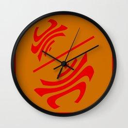 """将軍 (Shogun) - (della serie """"La Teoria del Colore"""") Wall Clock"""