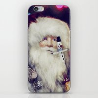 santa iPhone & iPod Skins featuring Santa by ThePhotoGuyDarren