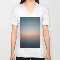 rothko V-neck T-shirts featuring hello rothko by Richard PJ Lambert