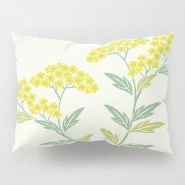 Summer Sweet Soft Green Bloom Floral Pillow Sham