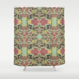 Celadon Japonica Shower Curtain