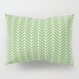 Green Frond Layers Small Pillow Sham