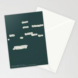 Blackout Poem {003.} Stationery Cards