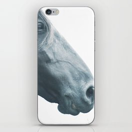 Horse head - fine art print n° 2, nature love, animal lovers, wall decoration, interior design, home iPhone Skin