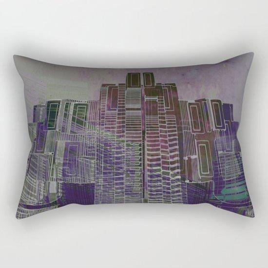 Urban Bubble into Space / 25-08-16 Rectangular Pillow