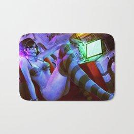 hotty-trashy-nerdy Bath Mat
