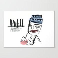 W E I L  Canvas Print