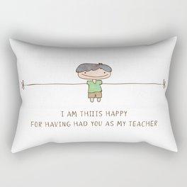 HAPPY TEACHER Rectangular Pillow