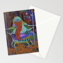 The Spider Wizard Stationery Cards