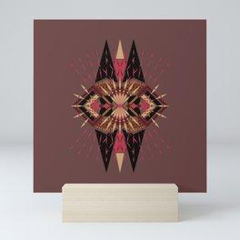 Chaotica - Geometric Explosion - Nighttime Version Mini Art Print