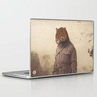 jungle Laptop & iPad Skins featuring Jungle Jaguar by Chase Kunz