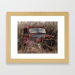 Rusty International Framed Art Print
