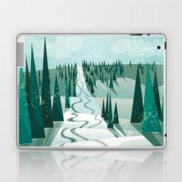 Winter Slope Laptop & iPad Skin