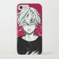 viria iPhone & iPod Cases featuring Kaneki by viria