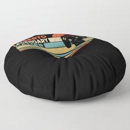 Roberto Legendary Gamer Personalized Gift Floor Pillow