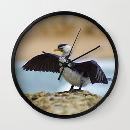 Dry Wings Wall Clock