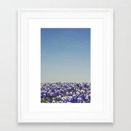 Blue Yonder Framed Art Print