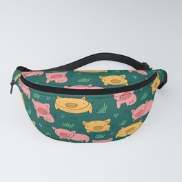 Pigs Everywhere Fanny Pack