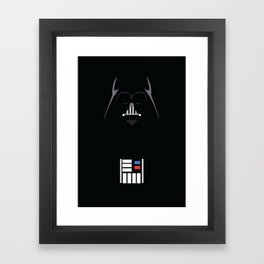 Star Wars - Darth Vader Minimalist Framed Art Print