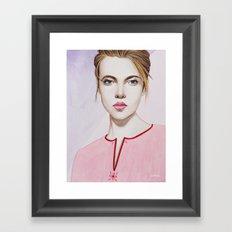 Close Up 17 Framed Art Print