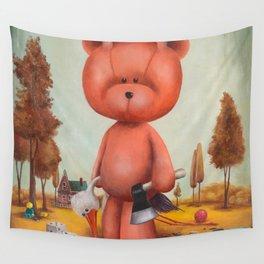 Grumble bear Wall Tapestry