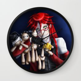 I Could Never Choose Wall Clock