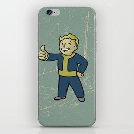 Vault Boy - fallout 4 iPhone Skin