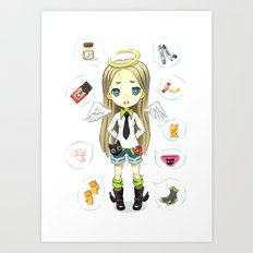 Wish List Art Print
