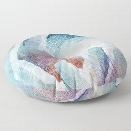 An unknown cavern Floor Pillow