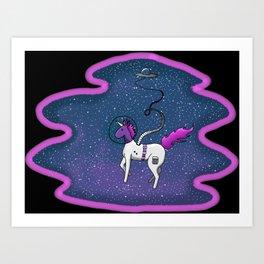 Spacicorn Art Print