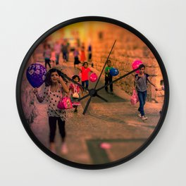Born to Play Wall Clock