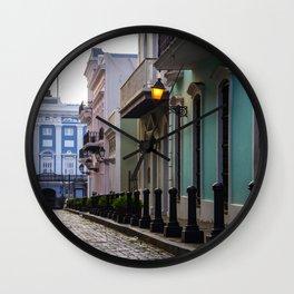 Old San Juan, Puerto Rico - Photo Wall Clock