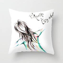 Skin Tones Throw Pillow