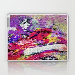 Blues Legend Pop art Guitarist Laptop & iPad Skin