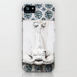 Fountain Fish iPhone Case