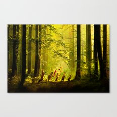 Secret Parade Canvas Print