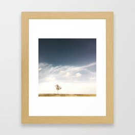 small and mighty Framed Art Print