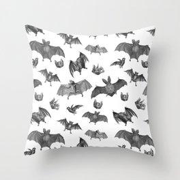 Batty Bats Throw Pillow