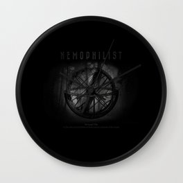 Nemophilist IV Wall Clock