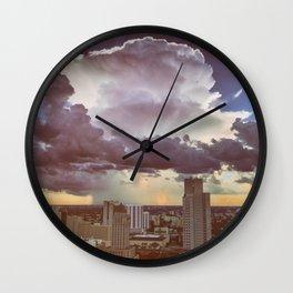 mushroom cloud Wall Clock
