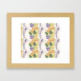 Juneberry Fantasy Framed Art Print
