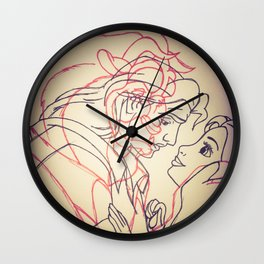 Beauty and the Beast 2 Wall Clock