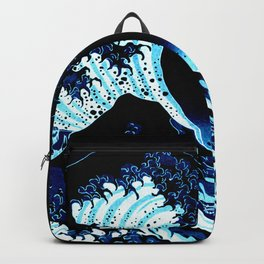 the Great Wave Blue Backpack