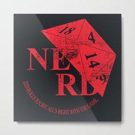 N.E.R.D. Metal Print