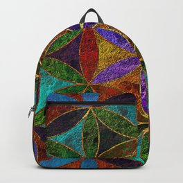 The Flower of Life (Sacred Geometry) 2 Backpack