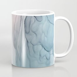 Calming Pastel Flow- Blush, grey and blue Coffee Mug